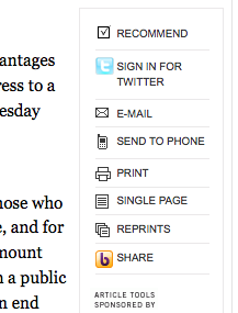 NYT Share The New York Times Integrates Twitter with Times People
