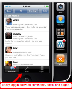 Wordpress for iPhone 2
